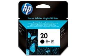 HP BLACK N.20 C6614D